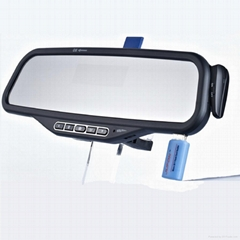 ALD08--Bluetooth Handsfree Car Kit Mirror with MP3 Player