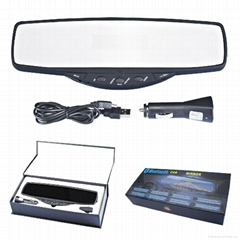 ALD88--Bluetooth Handsfree Car Rearview Mirror with LCD Display