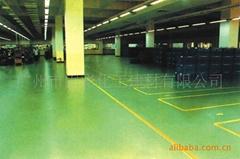 环氧彩砂地坪涂装系统