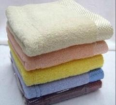 金絲緞邊毛巾