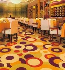 酒店工程满铺地毯