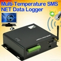 Multi-Temperature SMS NET Data Logger