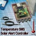 Temperature SMS Solar Alert Controller