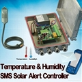 Temperature & Humidity SMS Solar Alert