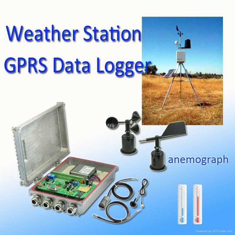 Weather Station GPRS Data Logger 1