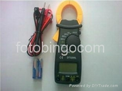 High Accurate Digital Multimeter Electronic Automatic Tester AC/DC CLAMP Meter