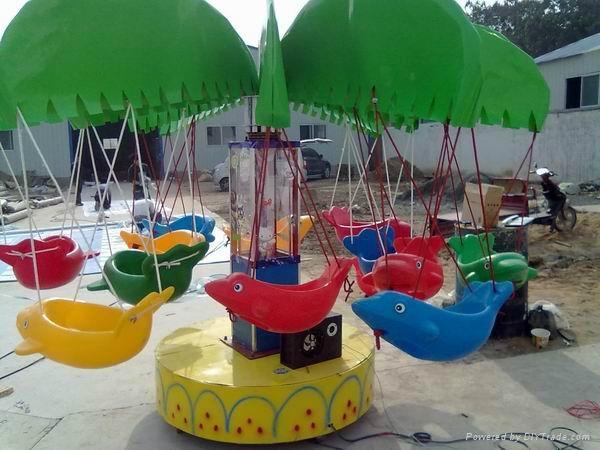 儿童椰子樹旋轉飛魚 1