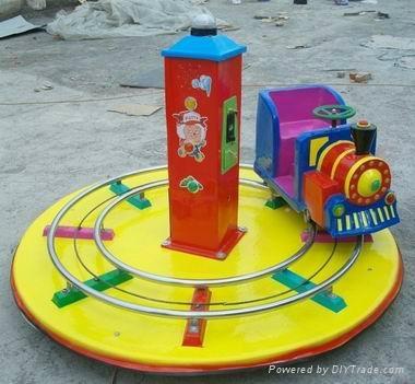 儿童單人軌道小火車 1