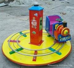 儿童单人轨道小火车