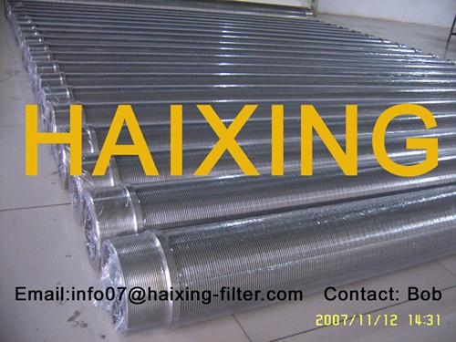 China supply high quality stainless steel Johnson well screen tube 4