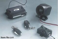 24V One-Way Car Alarm System