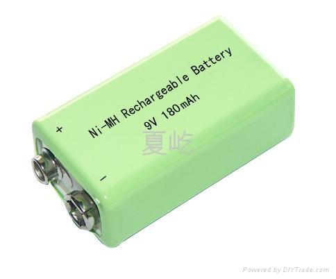 镍氢9v电池图片