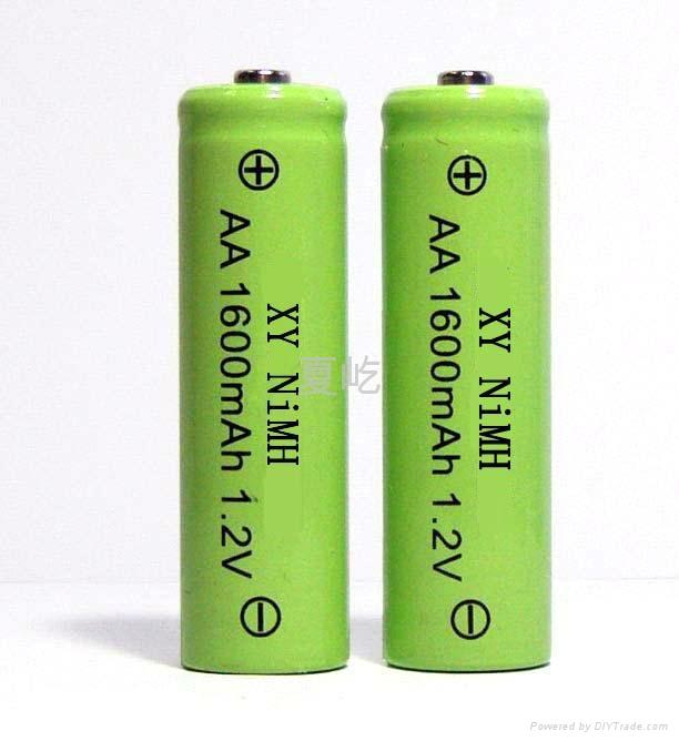 镍氢圆柱电池