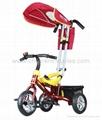 2012 New Fashion Luxury Kids Tricycle