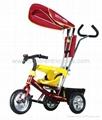 2012 New Fashion Luxury Children Tricycle 1