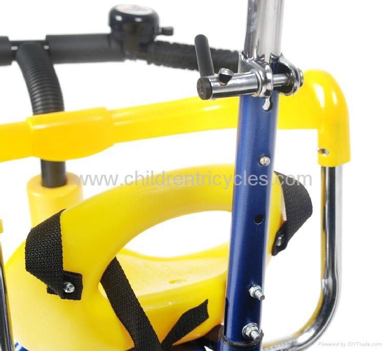 2012 New Fashion Luxury Children Tricycle 2