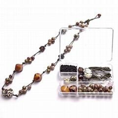 DIY handmade jewelry set