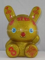 Rabbit  saving box   TR10115