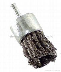 mini industry steel end brush