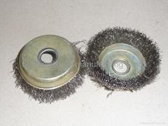 china cheapest stainless wire wheel brush