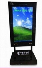 Digital Signage System with Built in PC, Touchscreen, High-resolution