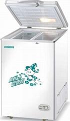 chest freezer, freezer, deep freezer, single door chest freezer, single top open