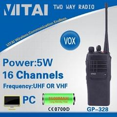 GP328 VHF/UHF Cheap Handy Two Way Radio
