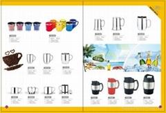 double wall s/s coffee mug