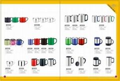 double wall s/s 201 vacuum coffee mug