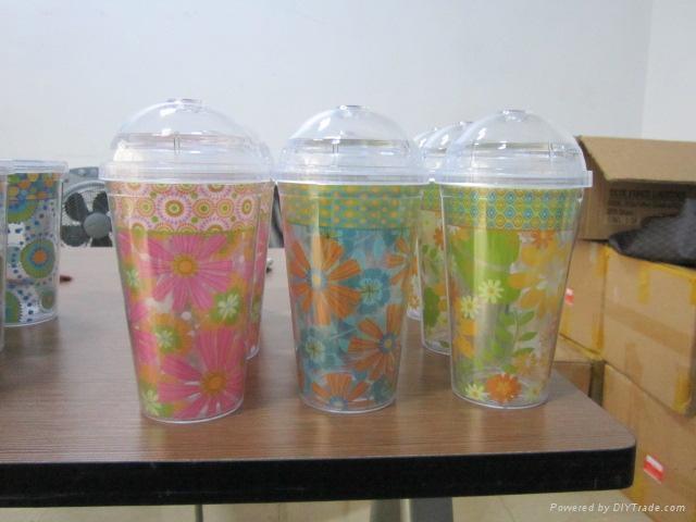 double wall plastic coffee mug 4
