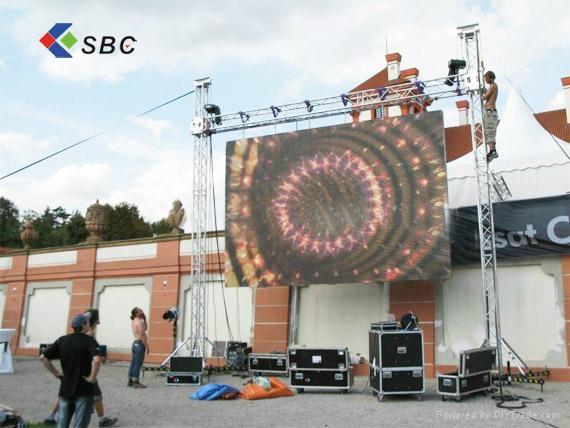 Hanging/ rental LED display screen 5