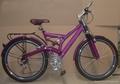 "26""full suspension bicycle"