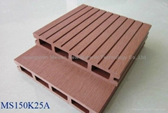WPC hollow composite decking