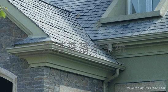 专业别墅屋檐外墙排水系统