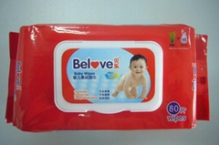 Belove Baby Wipes 80Wipes