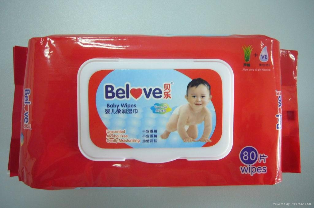 Belove Baby Wipes 80Wipes 3