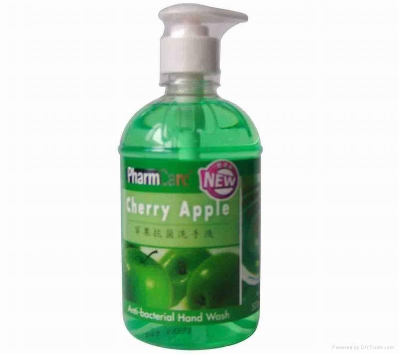 PharmCare Anti-bacterial Hand Wash 500ml 4
