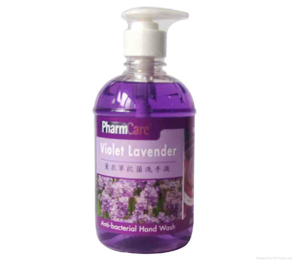 PharmCare Anti-bacterial Hand Wash 500ml 5
