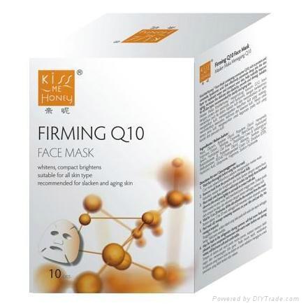 Kiss Me Honey Q+ Firming Facial Mask 10PCS+1PC  2