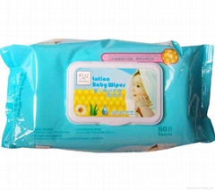 Kiss Me Honey Lotion Baby Wipes (Unscented)80Sheets