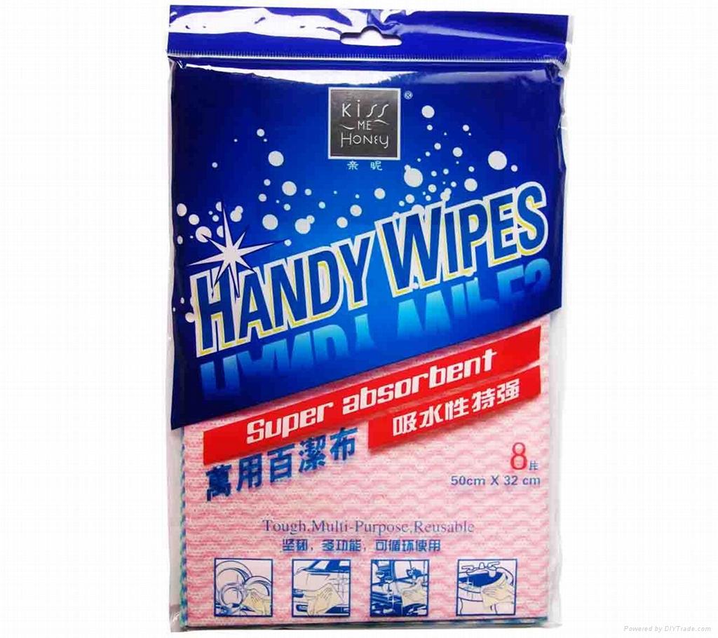 Kiss Me Honey Handy Wipes (Super Aborbent)8PCS  4