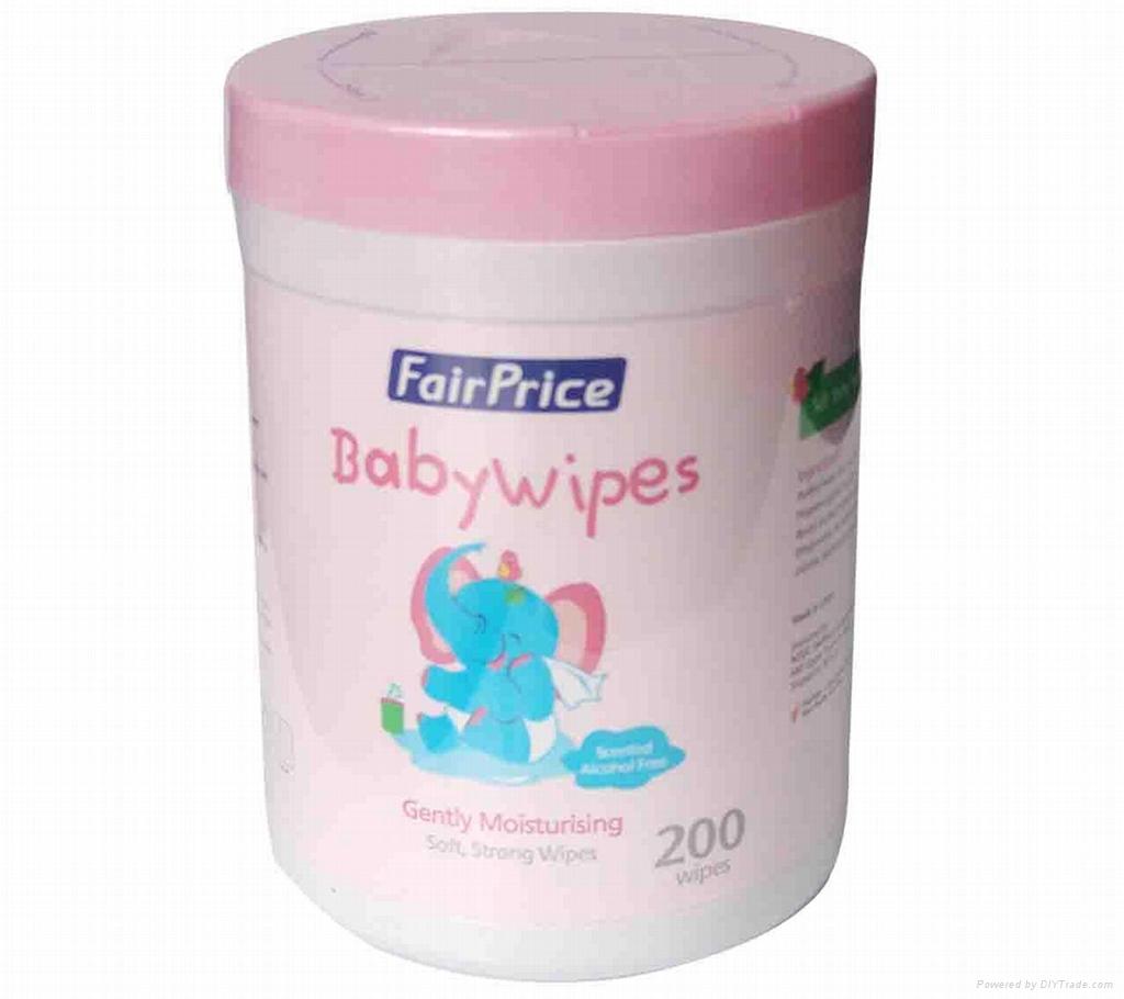 OEM Baby Wipes 200 Wipes 4