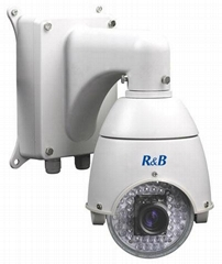 4.5 inch mini size high speed camera with10X zoom camera IR 40-60M