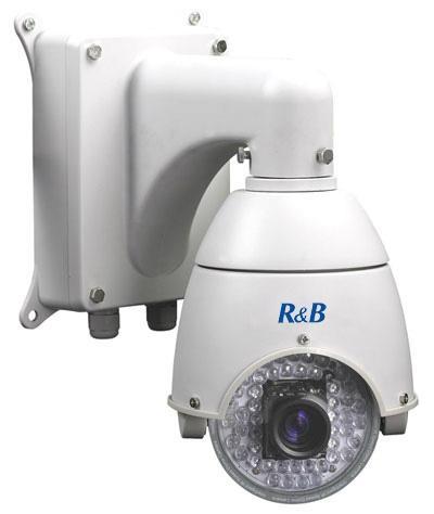 4.5 inch mini size high speed camera with SAMSUNG 10X zoom camera IR 50-70M 1