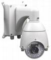 4.5 inch mini size high speed camera with SAMSUNG 10X zoom camera IR 50-70M 2