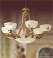 Translucent Stone Panels Marble Lamp 2