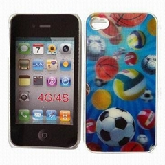 3D Holographic PC Case for iPhone 4/4S