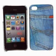 PC Rubberized Case for iPhone 4/4S