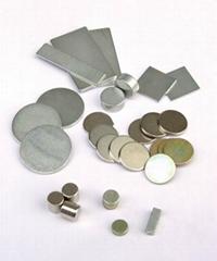 高档皮具磁铁小圆片