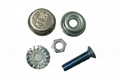 Anti-theft License Plate Fixing Device (Bolts and Nuts) 1